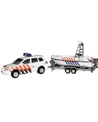 2-Play politieauto Mitsubishi boot
