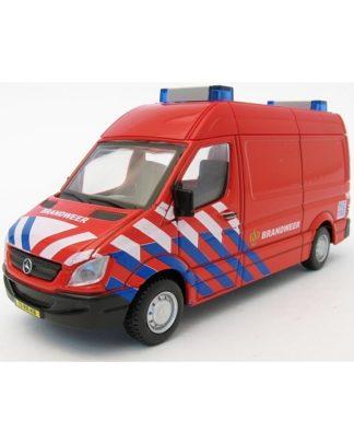 Bburago Mercedes Sprinter brandweer