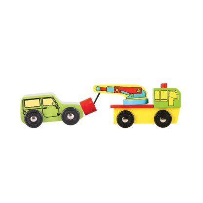 BigJigs houten voertuigen