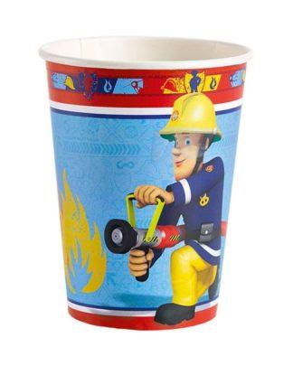 Brandweerman Sam Feestbekers