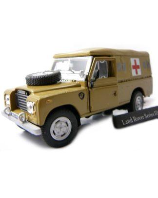 Land Rover ambulance