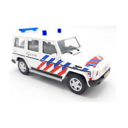 Mercedes Gklasse politie