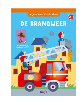kleurboek brandweer