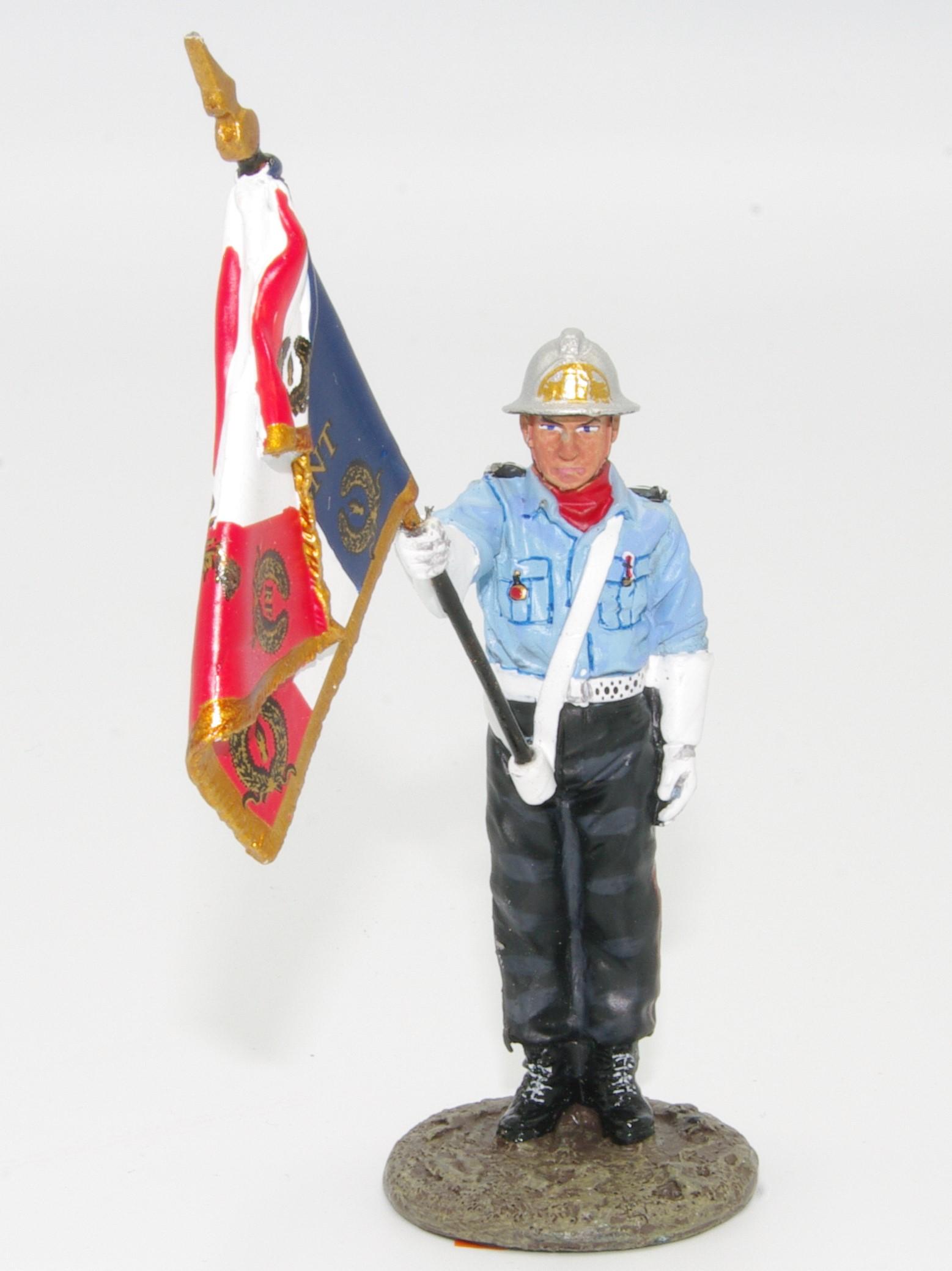 brandweerman Frankrijk 2001