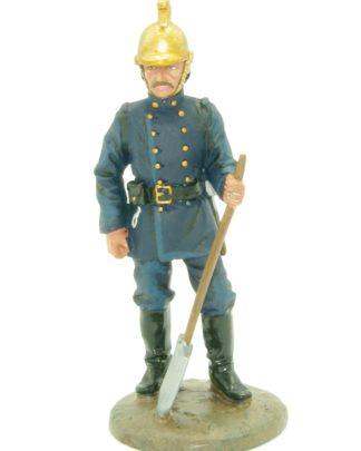 brandweerman Engeland 1890