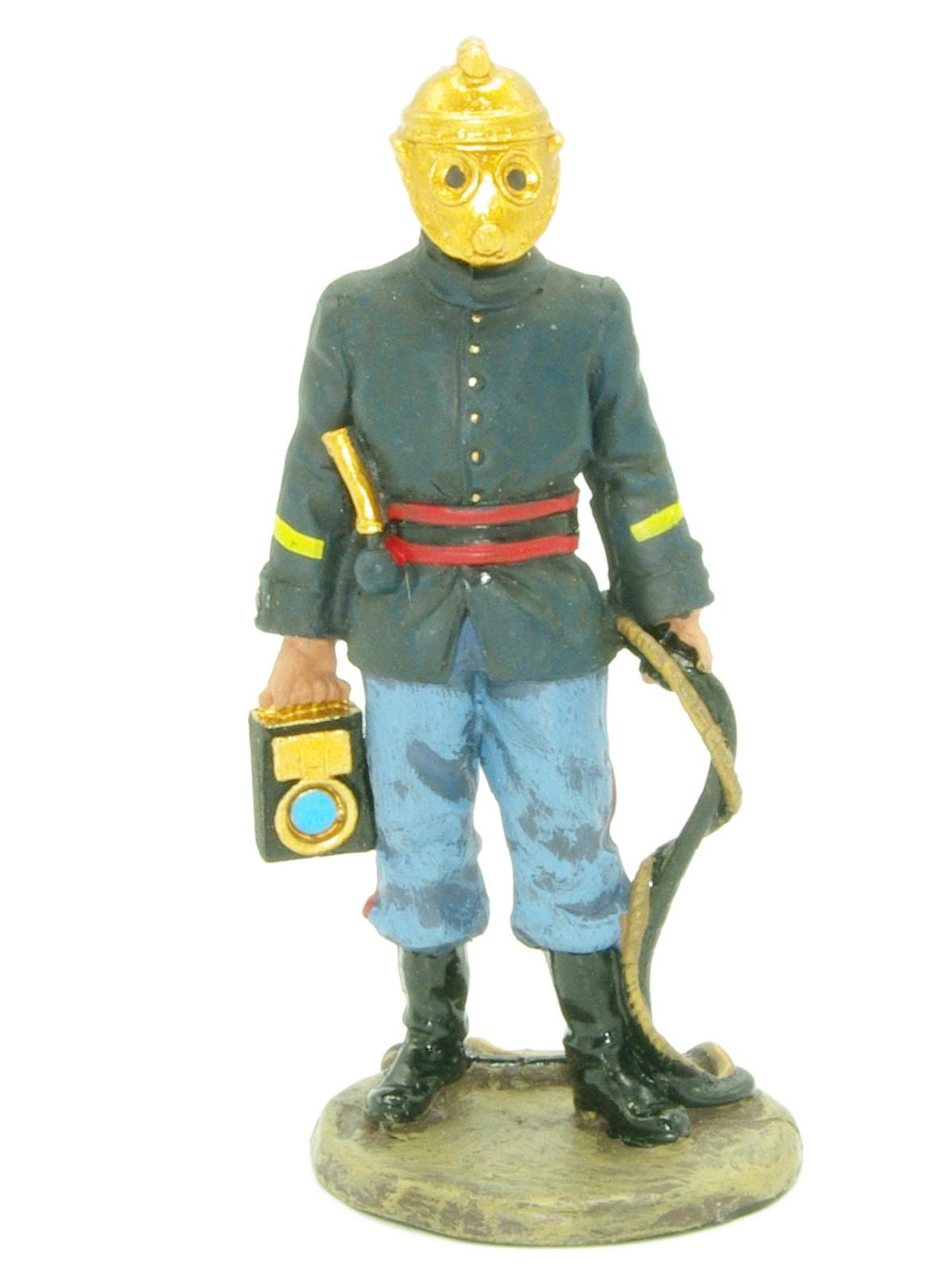 brandweerman Frankrijk 1893