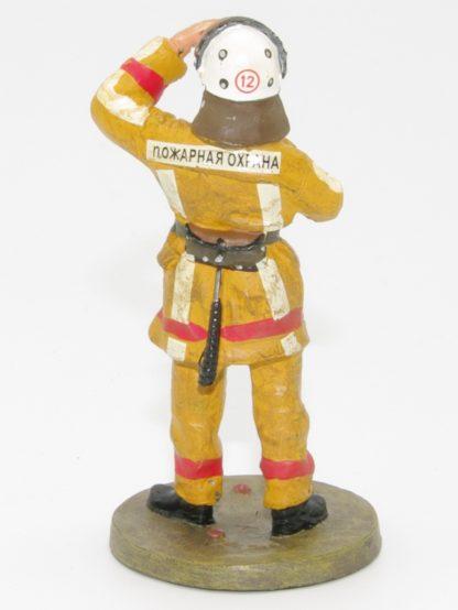 brandweerman Moskou 2002