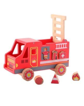 houten brandweer vormenstoof