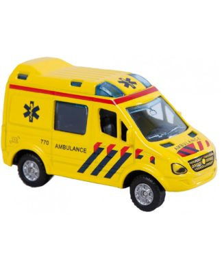 kids globe ambulance bus