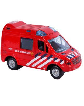 kids globe brandweer bus