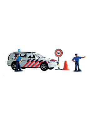 kids globe politie volvo speelset