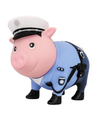 Lilalu spaarvarken politie