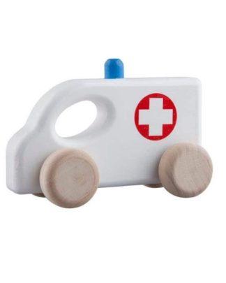 houten ambulance
