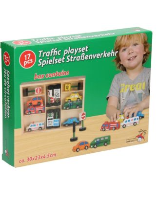 houten speelset verkeer