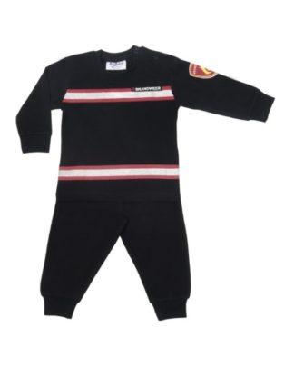 pyjama brandweer zwart