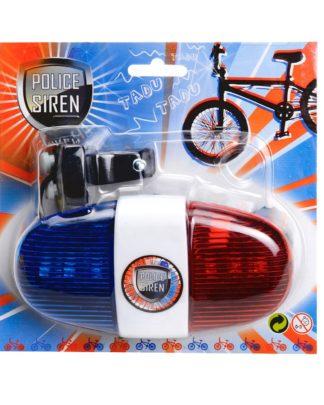 zwaailicht sirene fiets