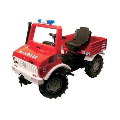 rolly toys brandweer unimog skelter