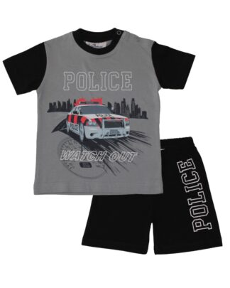 Fun2Wear Shortama politie zwart