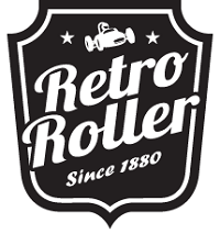 Logo Retro Roller