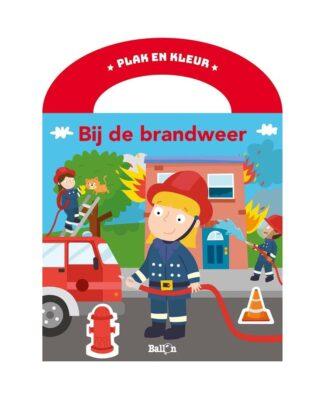 kleurboek stickers brandweer