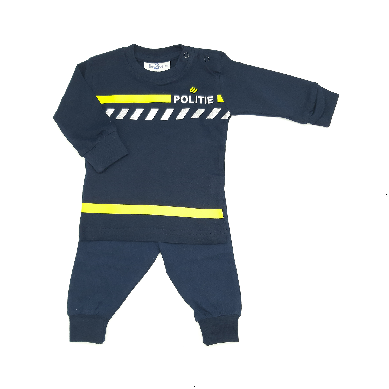 Pyjama politie nieuw uniform
