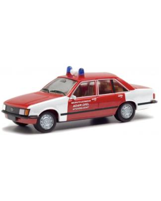 Herpa Opel Rekord werkfeuerwehr aktiengesellschaft