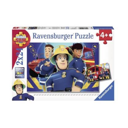 Brandweerman Sam - Puzzel 'Sam helpt je uit de brand'