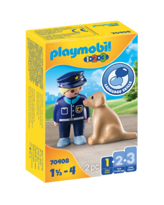 Playmobil 70408 Politieman met hond