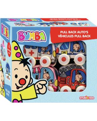 Studio 100 Bumba pull back auto's