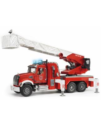 Bruder 2821 Mack Granite brandweer ladderwagen