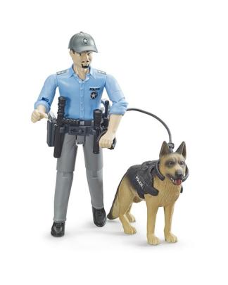 Bruder 62150 BWorld politieagent met hond
