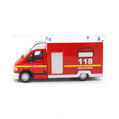 Bburago 32004 Renault Master brandweer Zwitserland